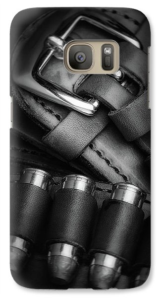 Galaxy Case featuring the photograph Gunbelt by Tom Mc Nemar