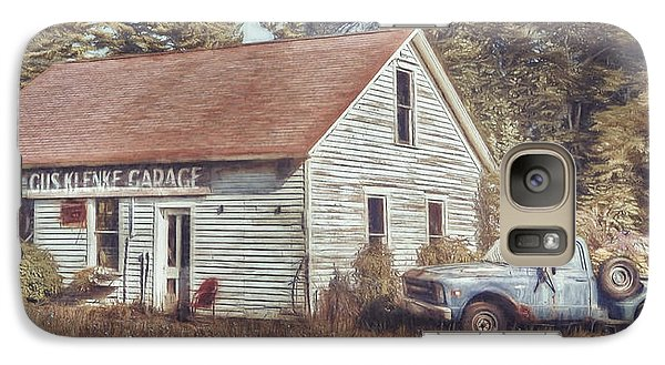 Truck Galaxy S7 Case - Gus Klenke Garage by Scott Norris