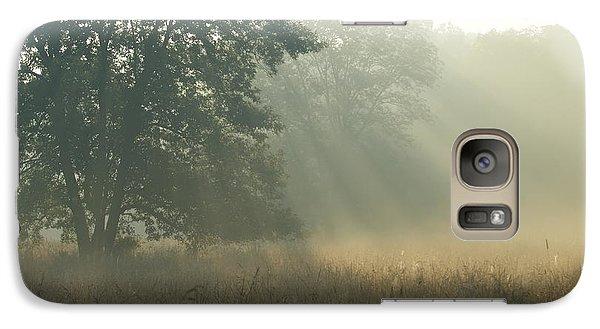 Galaxy Case featuring the photograph Guten Morgen by Heidi Poulin