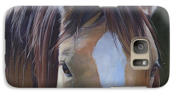 Galaxy Case featuring the painting Gypsy Eyes by Alecia Underhill