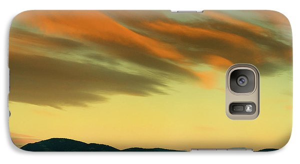 Galaxy Case featuring the photograph Hailing The Sky by John De Bord