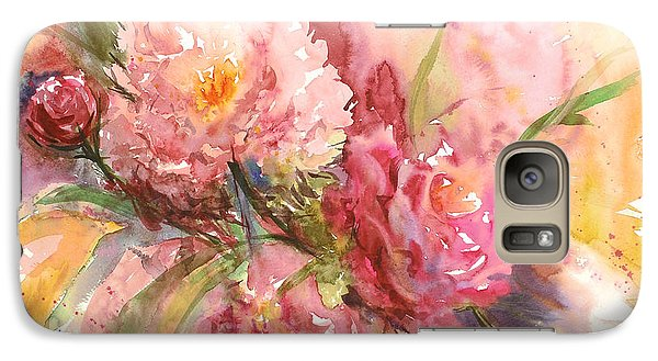Galaxy Case featuring the painting Halal Yadah by Sandra Strohschein