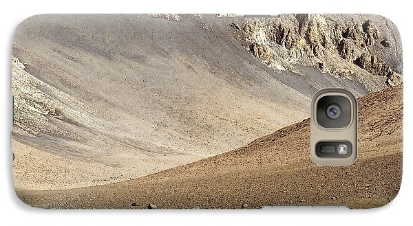 Galaxy Case featuring the painting Haleakala Crater Floor by Peter J Sucy