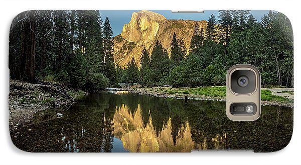 Half Dome From  The Merced Galaxy S7 Case