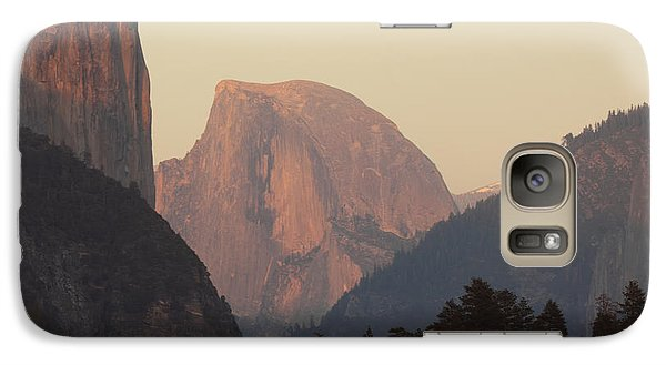 Galaxy Case featuring the photograph Half Dome Rising In Distance by Max Allen