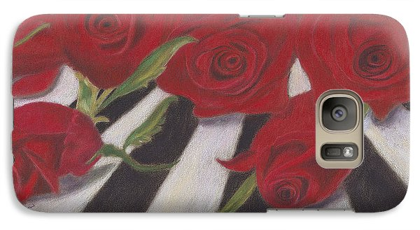 Galaxy Case featuring the painting Half Dozen Red by Arlene Crafton