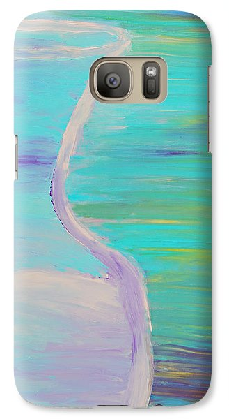 Galaxy Case featuring the painting Half by Lola Connelly