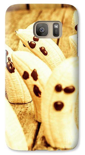Halloween Banana Ghosts Galaxy S7 Case