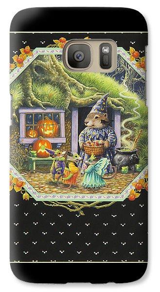 Groundhog Galaxy S7 Case - Halloween Treats by Lynn Bywaters