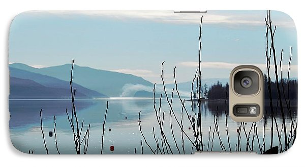 Galaxy Case featuring the photograph Halo On Copper Island by Victor K