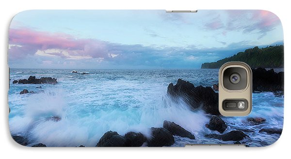 Galaxy Case featuring the photograph Hamakua Sunset by Ryan Manuel