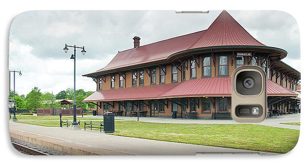 Galaxy Case featuring the photograph Hamlet North Carolina Depot by John Black