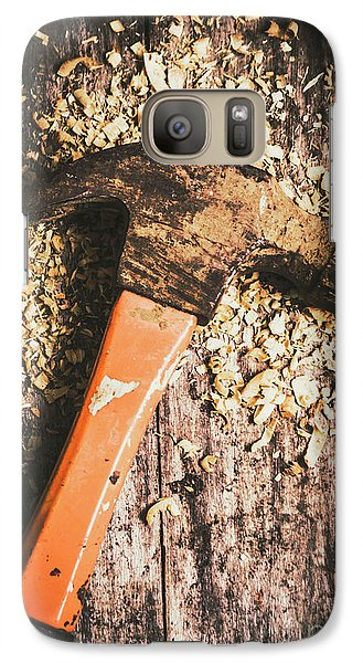 Hammer Details In Carpentry Galaxy S7 Case
