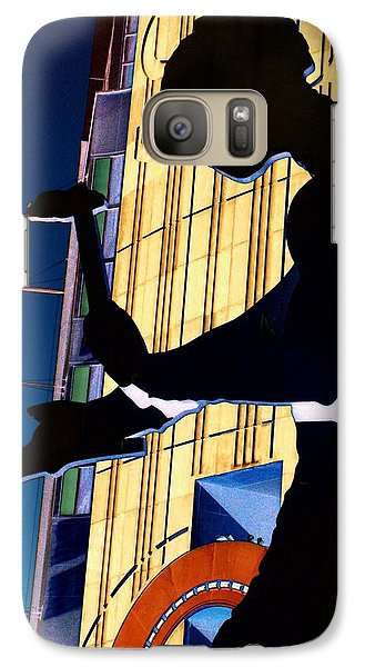 Hammering Man Galaxy S7 Case by Tim Allen