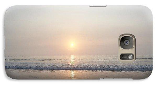 Galaxy Case featuring the photograph Hampton Beach Sunrise by Eunice Miller