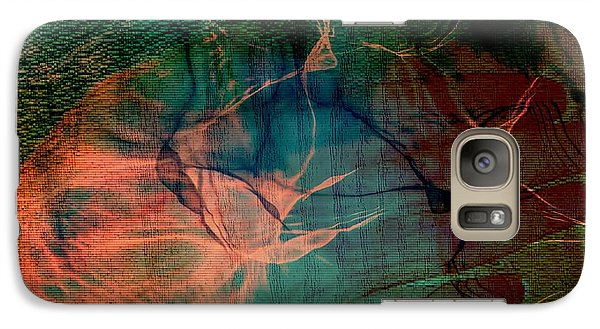 Galaxy Case featuring the digital art Hand Of A Healer - La Main Dun Guerisseur by Fania Simon