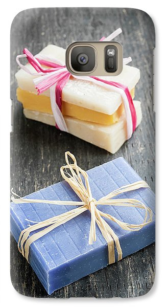 Galaxy Case featuring the photograph Handmade Soaps by Elena Elisseeva