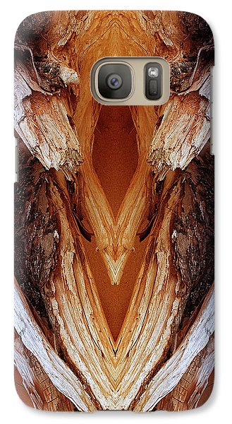 Galaxy Case featuring the photograph Hands by WB Johnston