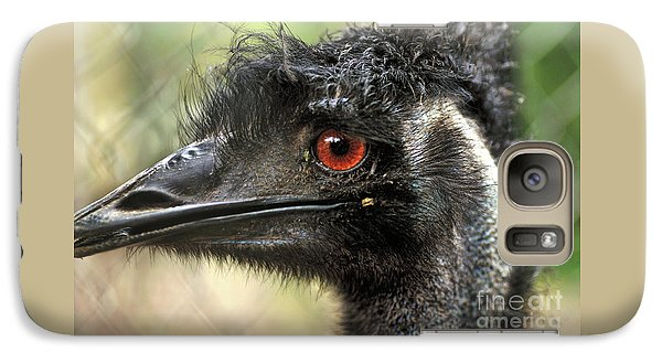 Emu Galaxy S7 Case - Handsome by Kaye Menner