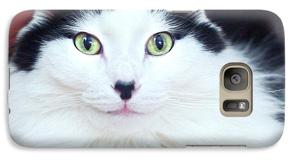 Galaxy Case featuring the photograph Handsome Tuxy by Byron Varvarigos