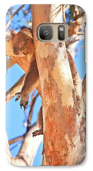 Galaxy Case featuring the photograph Hanging Around, Yanchep National Park by Dave Catley