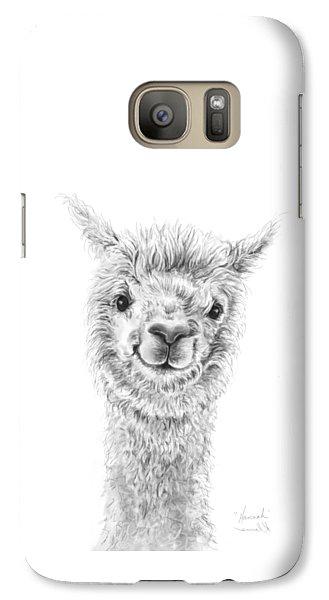 Llama Galaxy S7 Case - Hannah by K Llamas
