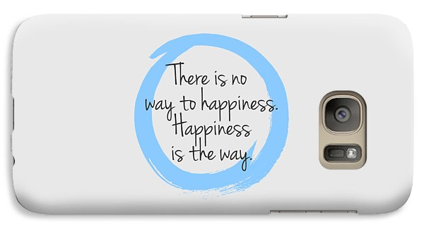 Galaxy Case featuring the digital art Happiness by Julie Niemela