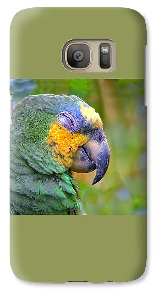 Galaxy Case featuring the photograph Happy 2 by Wendy McKennon
