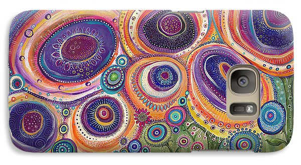 Galaxy Case featuring the painting Happy Dance by Tanielle Childers