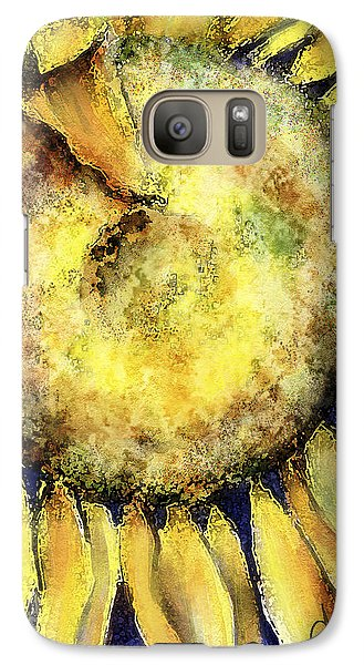Galaxy Case featuring the painting Happy Day by Annette Berglund