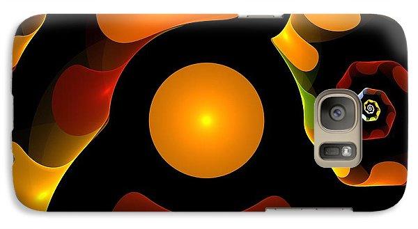 Impressionism Galaxy S7 Case - Happy Digit by Steve K