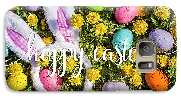 Galaxy Case featuring the photograph Happy Easter by Teri Virbickis