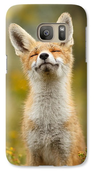 Happy Fox Galaxy S7 Case