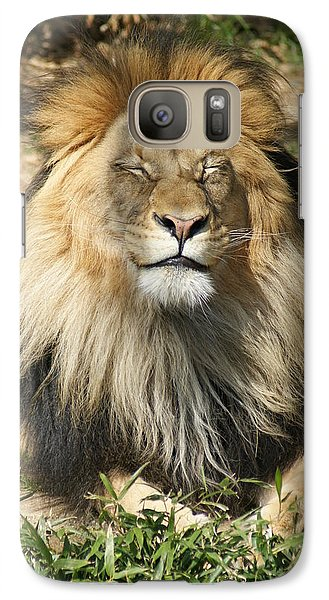 Galaxy Case featuring the photograph Happy by Heidi Poulin