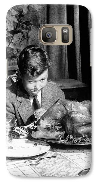 Happy Thanksgiving Galaxy S7 Case by American School