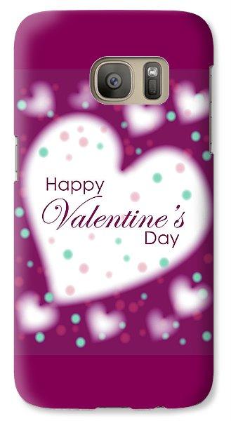 Happy Valentine's Day Galaxy S7 Case