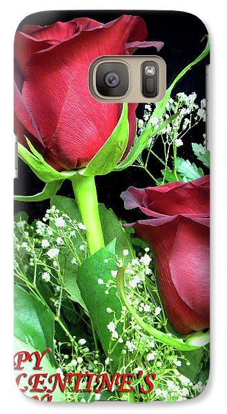 Galaxy Case featuring the photograph Happy Valentines Day by Sandi OReilly
