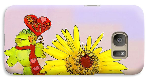 Galaxy Case featuring the photograph Happy Valentine's Day by Teresa Zieba