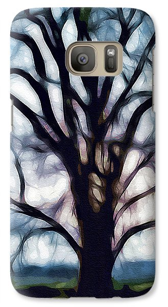Galaxy Case featuring the digital art Happy Valley Tree by Holly Ethan