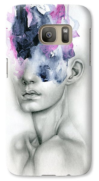 Abstract Galaxy S7 Case - Harbinger by Patricia Ariel