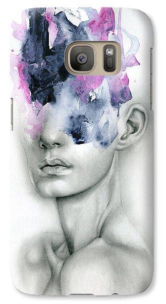 Portraits Galaxy S7 Case - Harbinger by Patricia Ariel