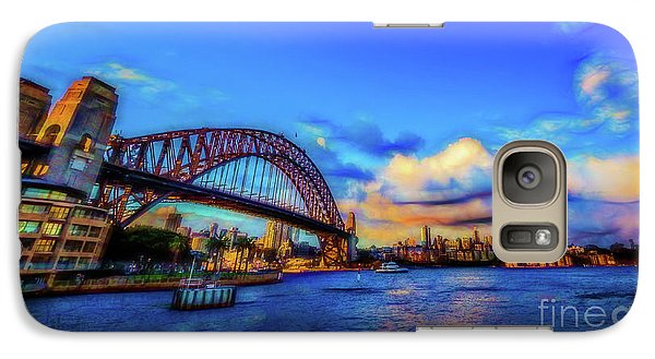 Galaxy Case featuring the photograph Harbor Bridge by Perry Webster
