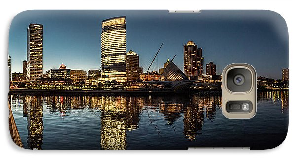 Galaxy Case featuring the photograph Harbor House View by Randy Scherkenbach