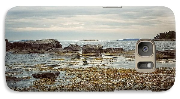Galaxy Case featuring the photograph Harbor by Karen Stahlros