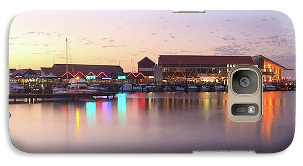 Galaxy Case featuring the photograph Harbour Lights, Hillarys Boat Harbour by Dave Catley