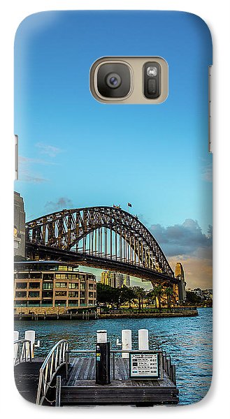 Galaxy Case featuring the photograph Harbour Sky by Perry Webster