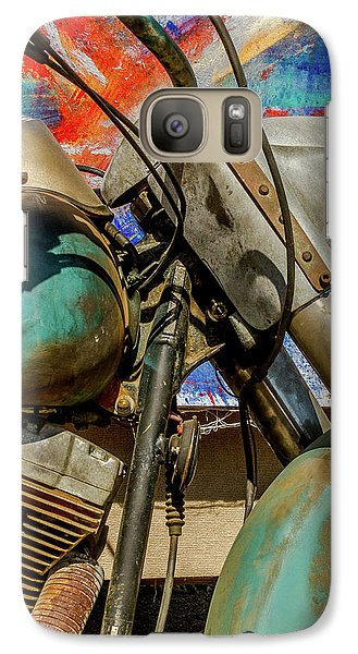 Galaxy Case featuring the photograph Harley Davidson - American Icon II by Bill Gallagher