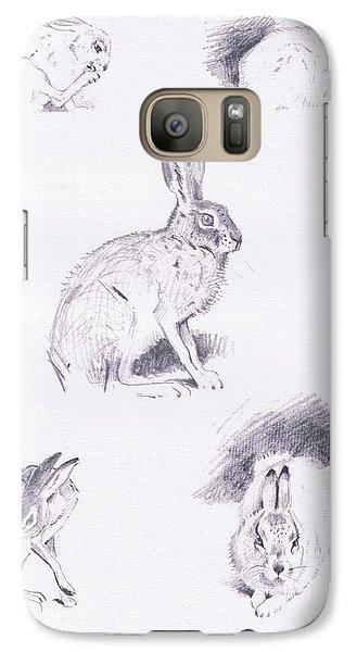 Hare Studies Galaxy S7 Case