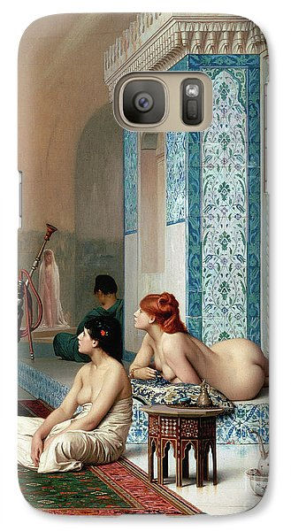 Harem Pool, Jean-leon Gerome Galaxy S7 Case