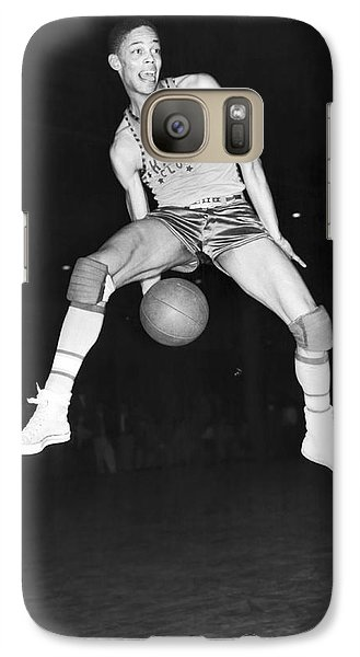 Harlem Clowns Basketball Galaxy S7 Case by Underwood Archives
